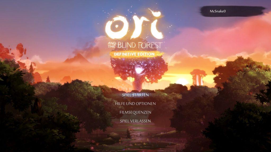 Das Titelbild von Ori And The Blind Forrest